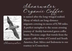 Sheawater Back Label Bird