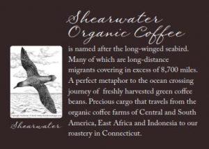 Sheawater Back Label Bird